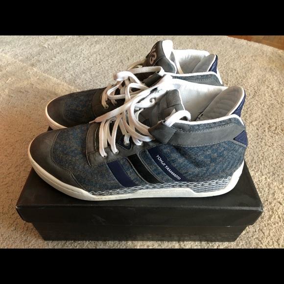 Adidas Y-3 Yohji Yamamoto Hayworth Mid II Athletic Sneakers Men Size 10.5